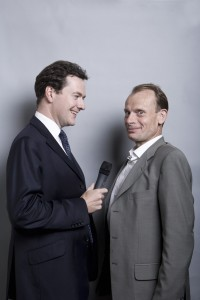 MP George Osbourne and Journalist Andrew Marr