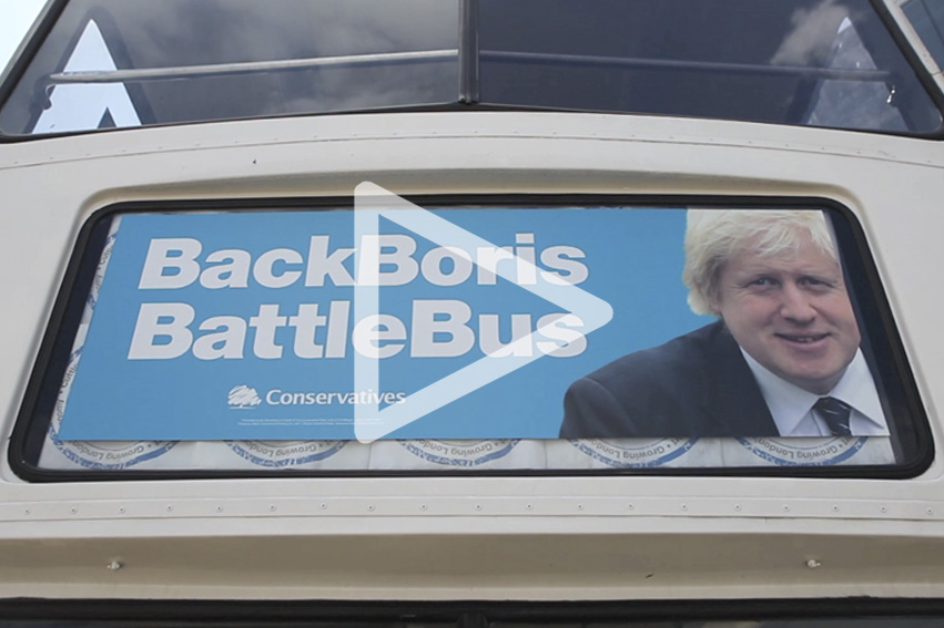 COMMERCIAL VIDEO  - London Mayor Boris Johnson, drops into The Old Vinyl Factory Hayes.