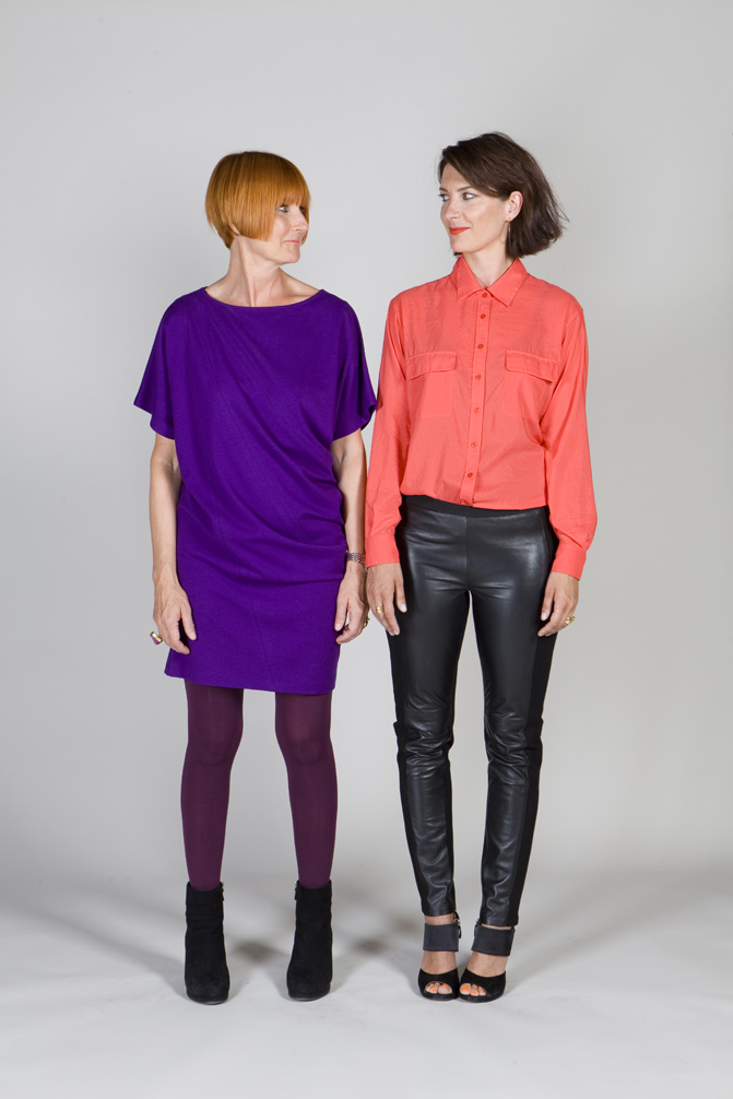 From - MARY PORTAS & MELANIE RICKY - Shot for the Guardian Weekend Magazine