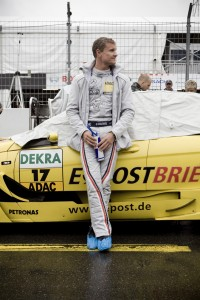 Racing drvier David Coulthard