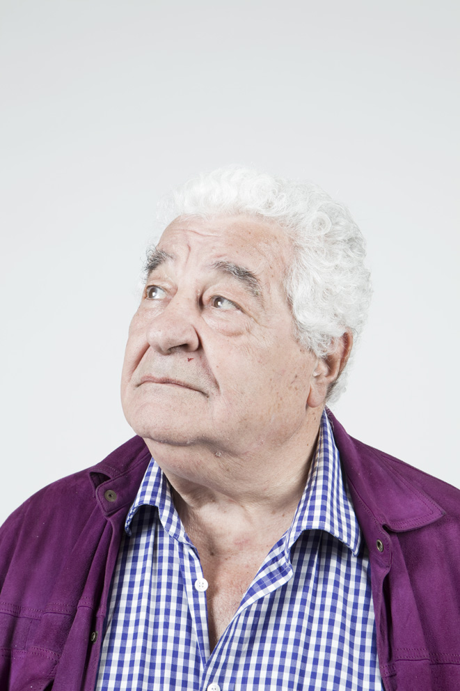 From - CELEBRITY BLIND DATES - Food writer Antonio Carluccio