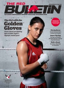 Katie Taylor cover from the Red Bulletin