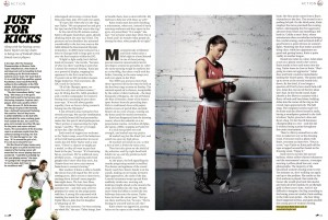 Pages from the Red Bulletin