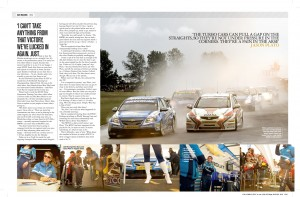 Tear sheet of feature from Car Magazine.