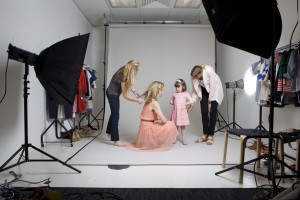 Fashion editor Jess Cartner-Morley and daughter Pearl