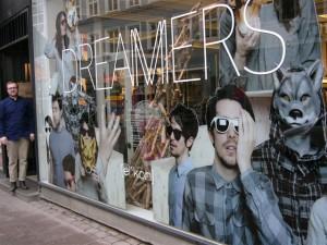 Shop window shoot for ICON Denmark.