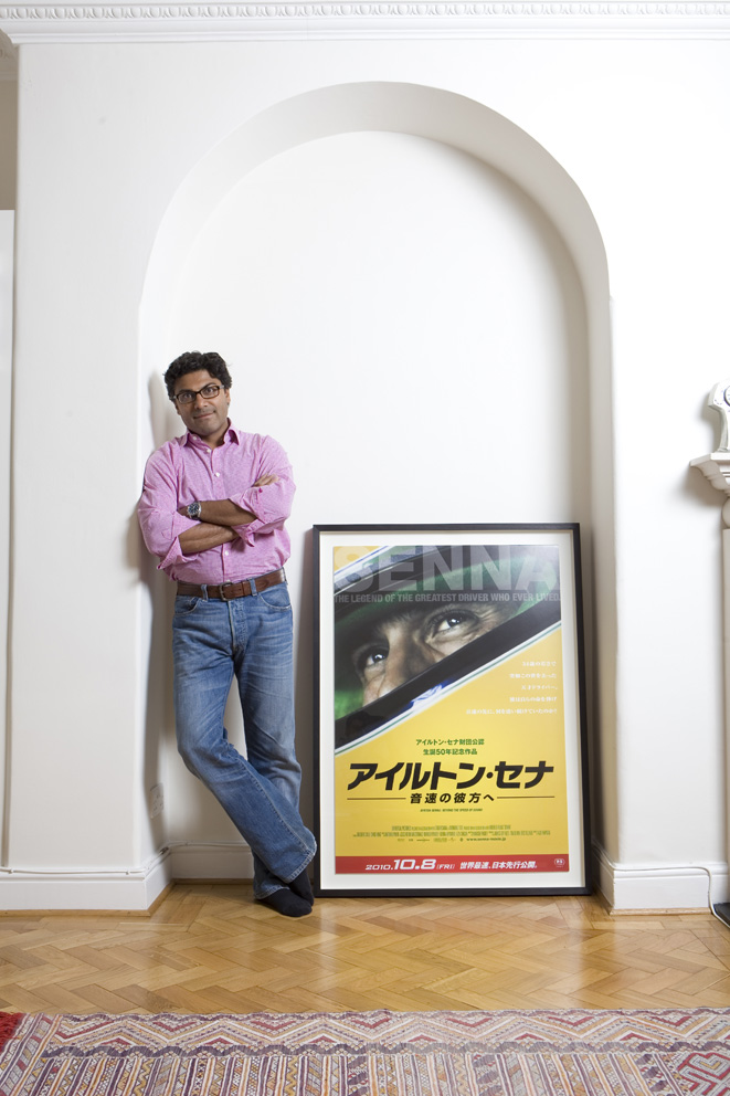 Manish Pandey writer and executive producer from the BAFTA winning documentary SENNA.