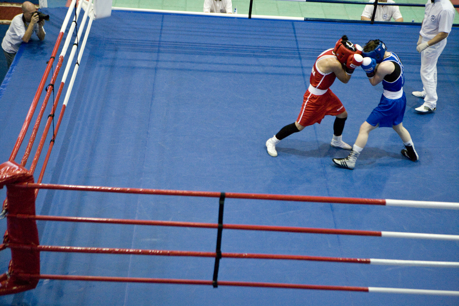 Womens European boxing championships in Nikolaev Ukraine shot for the Red Bulletin