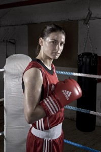 Womens Irish,  European, World and Olympic boxing champion