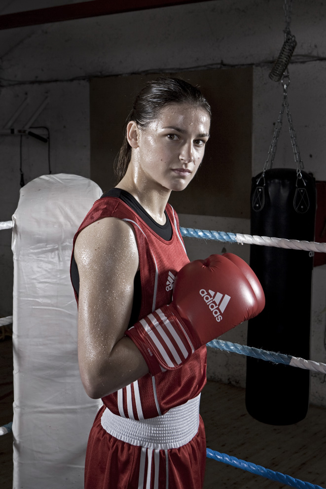 Womens Irish,  European, World and Olympic boxing champion