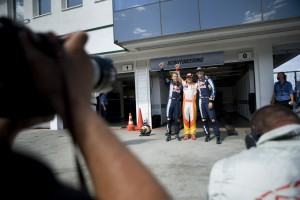 Sebastian Vettel, Fernando Alonso and Mark Webber 2nd 1st and 3rd in qualifying