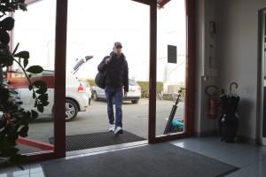 Jean-Eric Vergne arrives at his new job