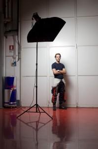 Formula One Driver Jean-Eric Vergne