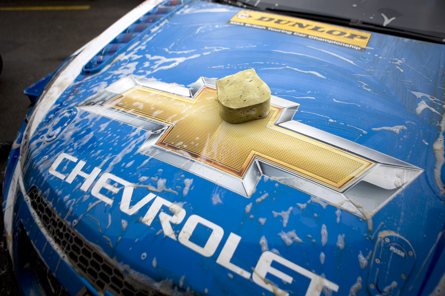 Team Chevrolet Car.
