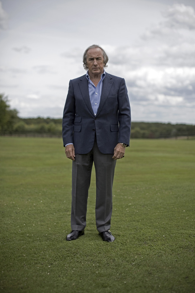 3 time Formula One World Champion Jackie Stewart