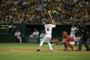 Sakamoto batting