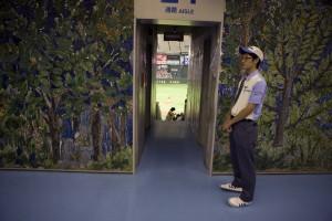 A steward guards his gate