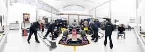 STR online interactive press pack, pit lane practice scenario