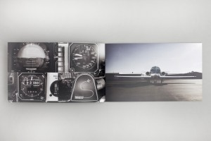 pages from the round the world fastest flight record attempt by Riccardo Mortara
