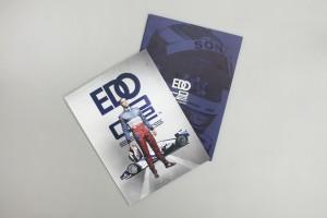 Executive CV book cover outside insert