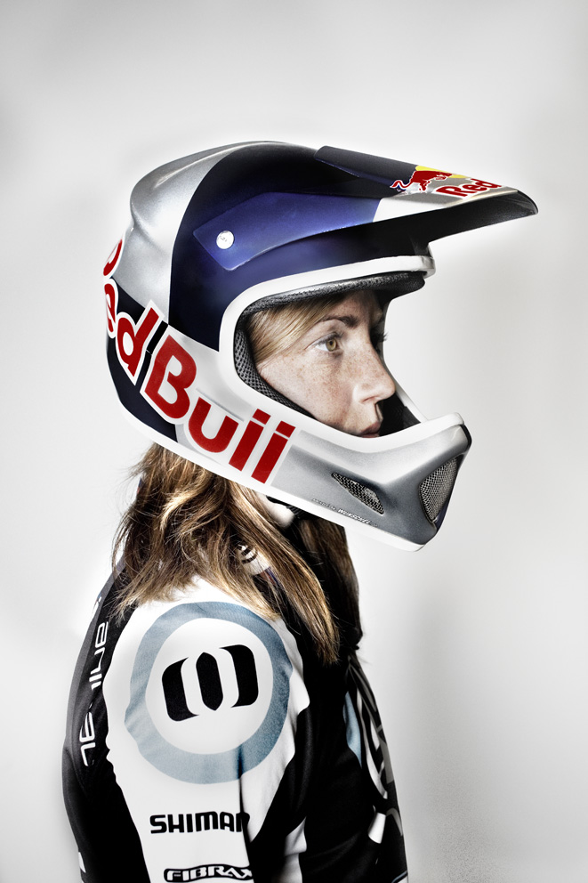 From - RACHEL ATHERTON - downhill mountain bike champion