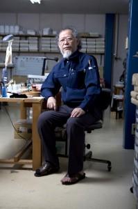 Mr Takeda (Kumano-Fude) Maker of fine make-up brushes