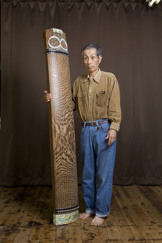 Mr Ogawa (master of Fukuyamakoto) Japanese Harp maker