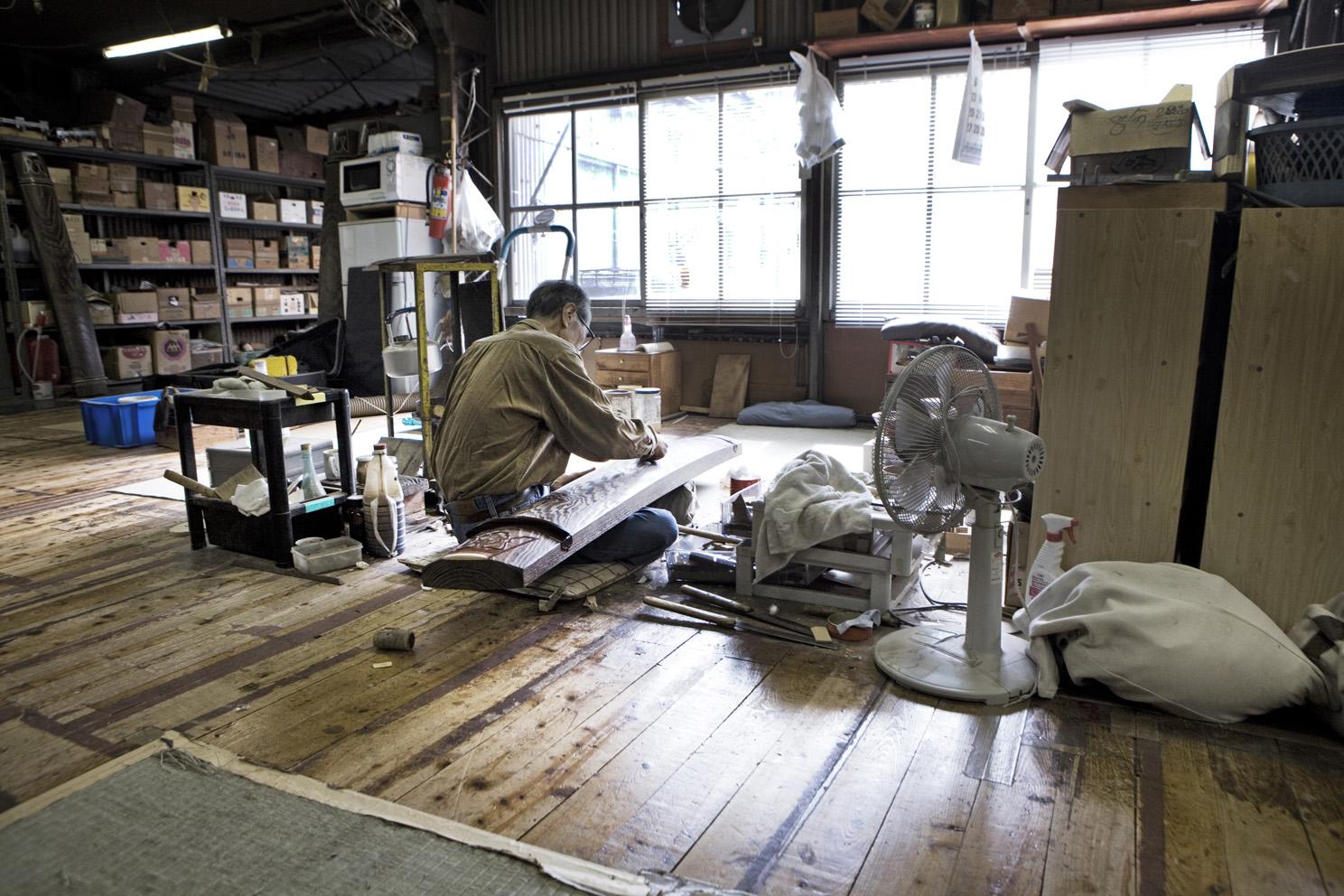 Mr Ogawa (Fukuyamakoto) Japanese Harp maker