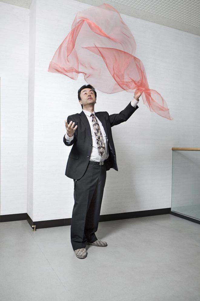 Mr Amaike and Mr. Koshimizu