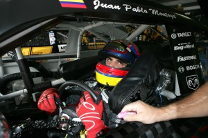 Juan Pablo Montoya driver with Chip Ganassi Racing with Felix Sabates...(real name)