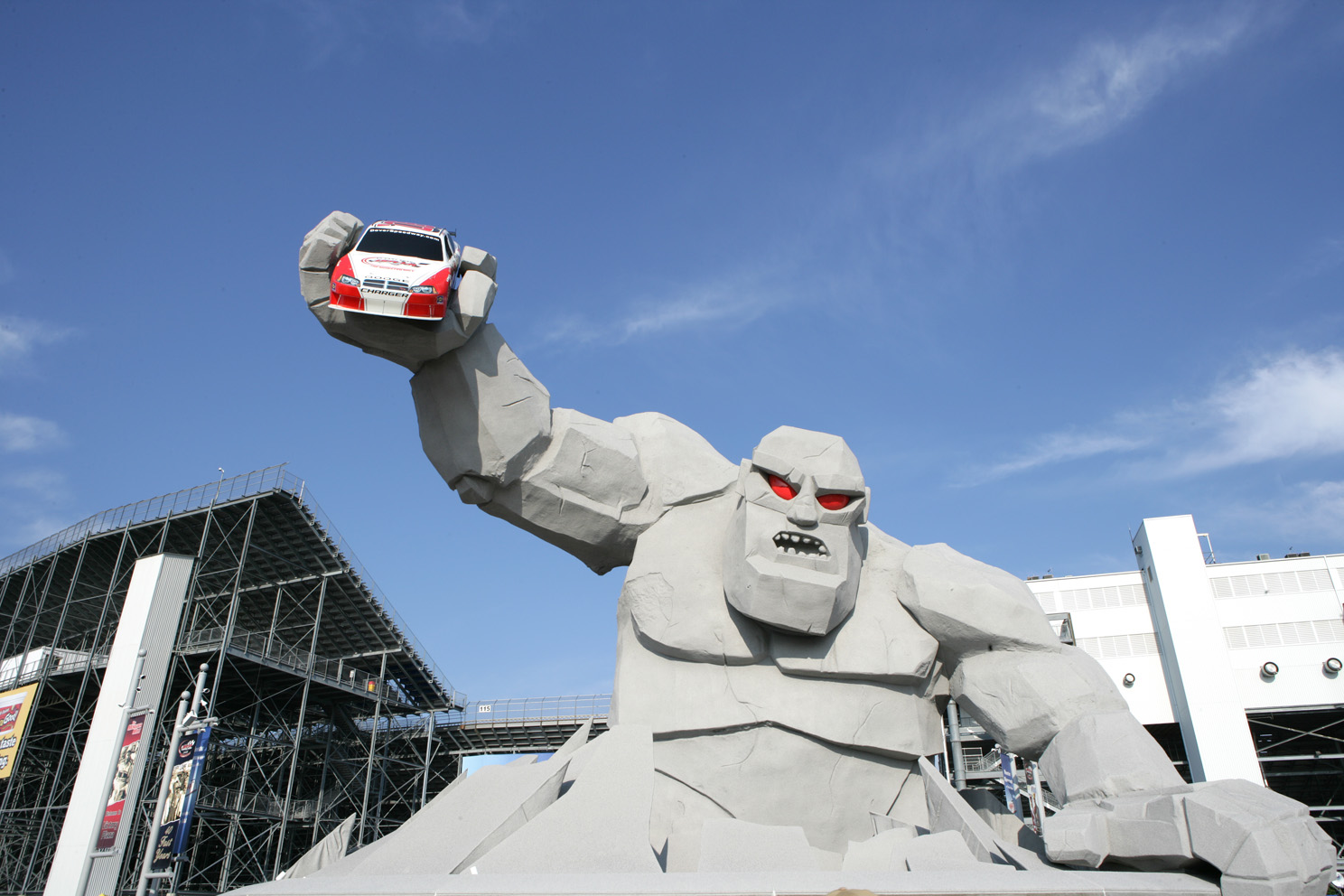 The Monster (of the Monster Mile)