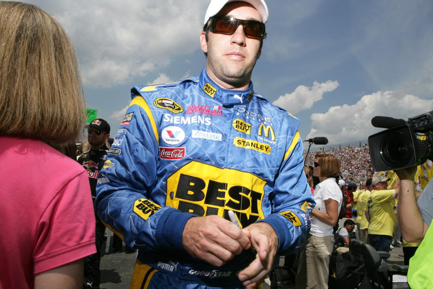 Elliott Sadler driver with Gillett Evernham Motorsports