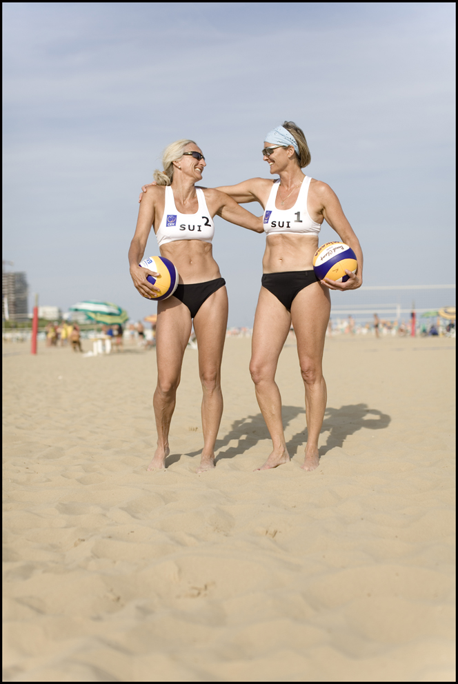 Helena Müller and Marianne Fullemann Piazza, Switzerland, Beach Volley Ball