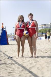 Klavdiva Orlova and Marina Korovdlova, Russia, Beach Volley Ball