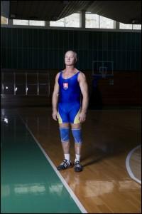 Siarhei Karpovich, Belarus, Weightlifting (Left) Victor Stavinoga, Ukraine, Weightlifting (right)