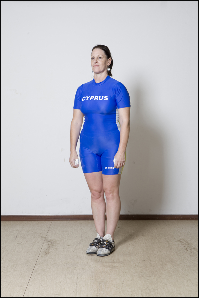 Denise Offermann, Cyprus, Weightlifting