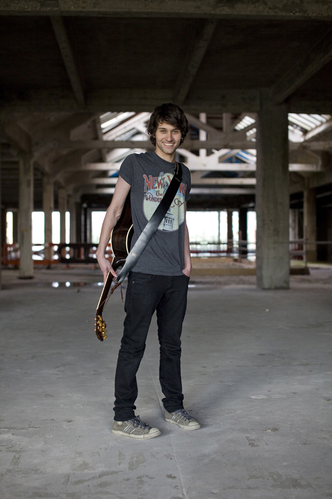 Sam Beeton, shot for The Old Vinyl Factory Sessions