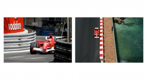 Michael Schumacher takes on the Monaco Street Curcuit
