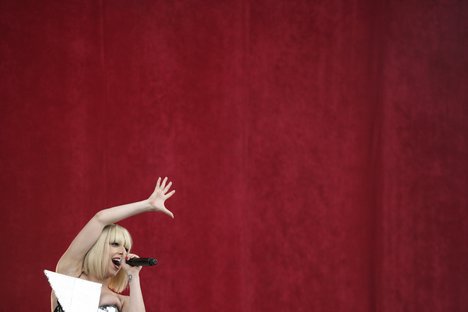lady gaga on the main stage