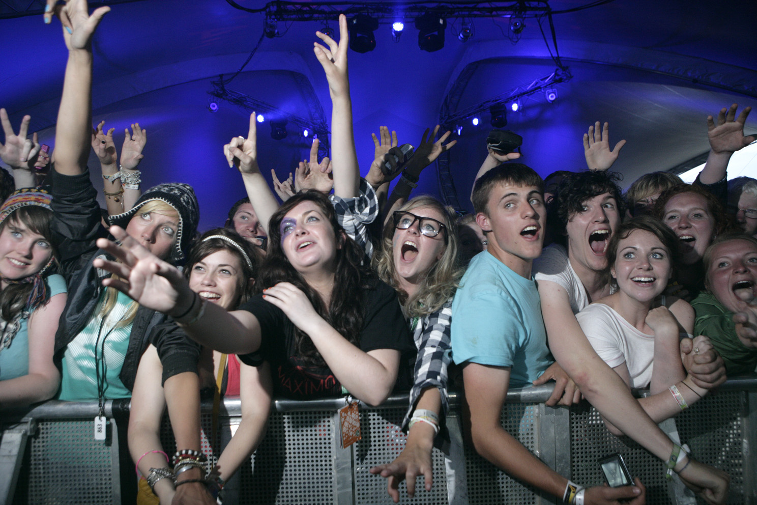 Fans at Ireland's biggest music festival