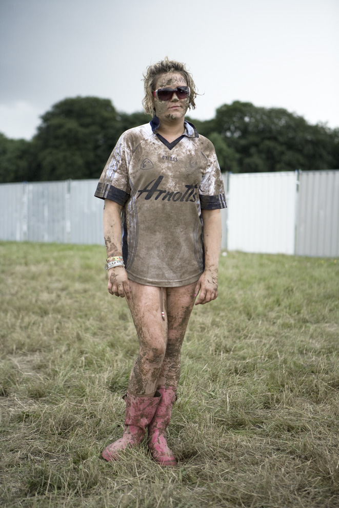 From - OXEGEN - A music fan at the Irish music festival