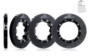 Disc brake mirror