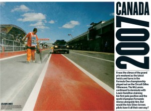 Pages featuring my work, taken right out of The Red Bulletin