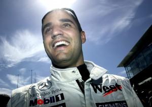 Mclaren F1 driver, Juan Pablo Montoya