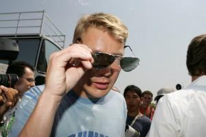 Mika Häkkinen the Finish (not from Hong Kong) ex F1 driver