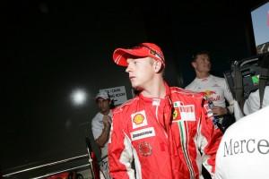 Kimi Räikkönen at the Australian Grand Prix 2008