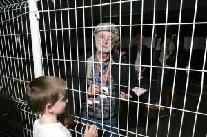 George Lucas at the Monaco Grand Prix. So feller, no ticket, no entry