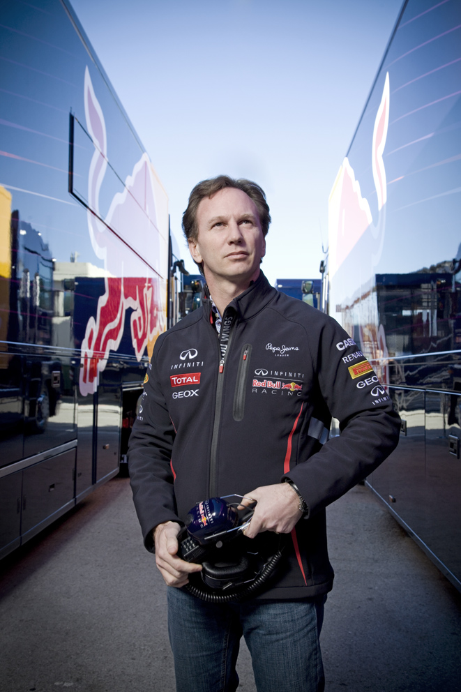 Christian Horner, Team Principle of Infiniti Red Bull Racing