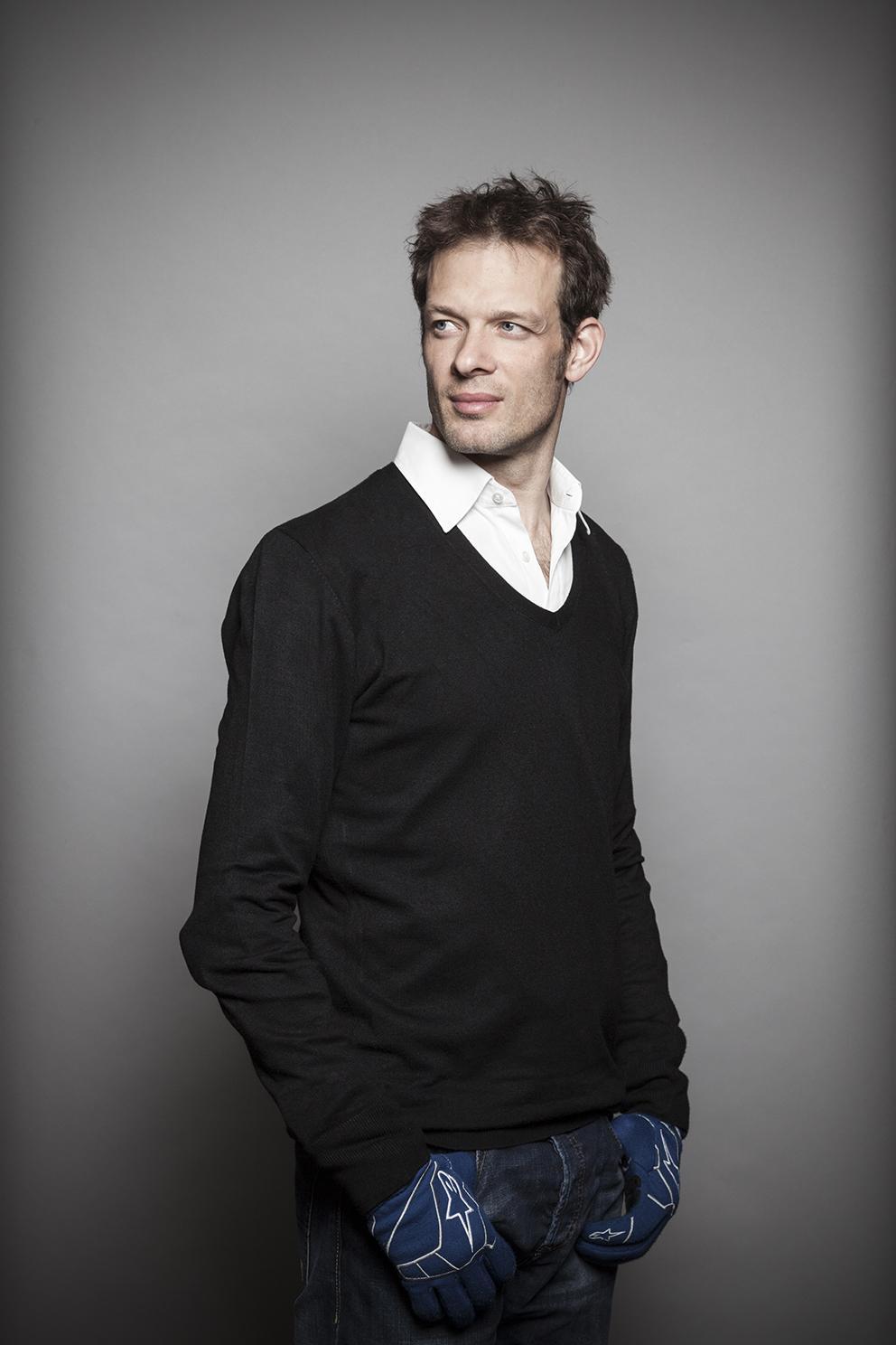 Austrian racing driver Alexander Wurz