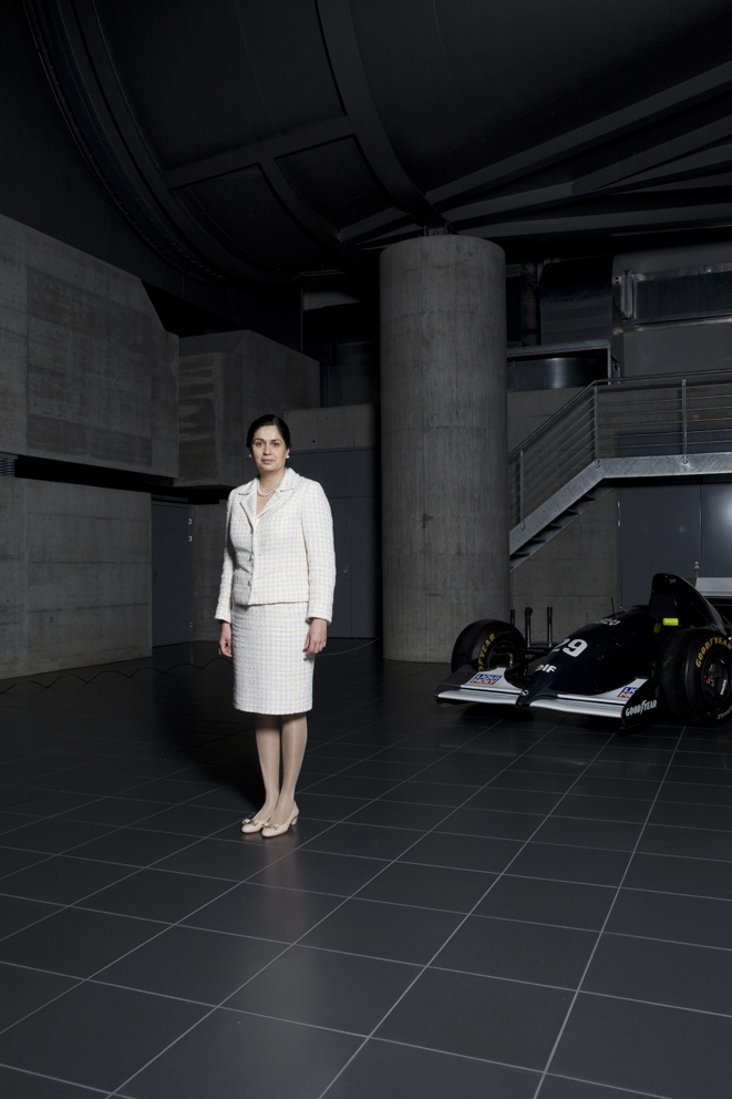 Team Principal of the Sauber Formula One team, Monisha Kaltenborn